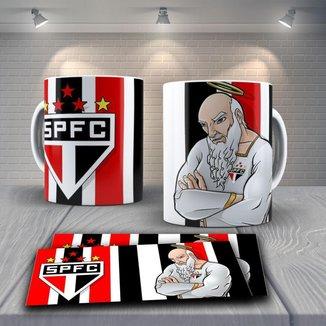 Caneca Time de Futebol Time São Paulo Mod 2