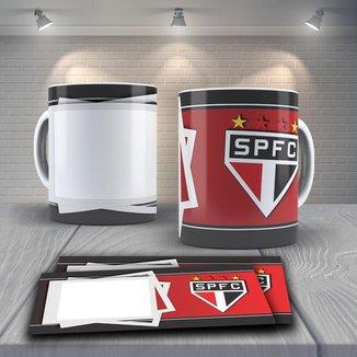 Caneca Time de Futebol Time São Paulo Mod 8