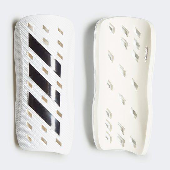 Caneleira Adidas Tiro Club - Branco+Preto