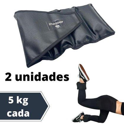 Caneleira De Peso Academia Tornozeleira Stuffs Shop 5 Kg (par)