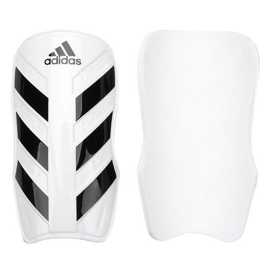 Caneleira Futebol Adidas Everlesto - Branco+Preto