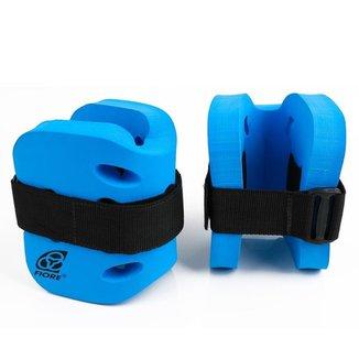 Caneleira Tornozeleira Hidroginástica - 2 a 3 Kg Azul
