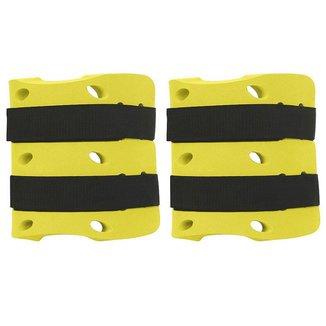 Caneleira Tornozeleira Hidroginástica - 3 a 4 Kg Amarelo