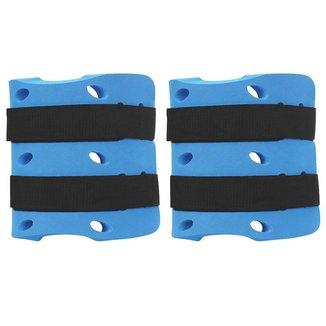 Caneleira Tornozeleira Hidroginástica - 3 a 4 Kg Azul