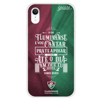 Capa de Celular Sou Fluminense - Para Iphone XR
