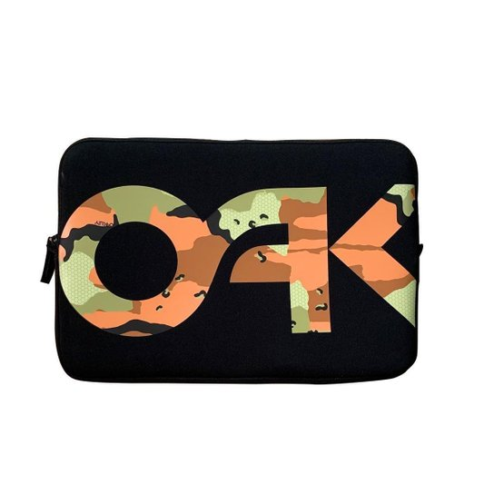 Capa Oakley para Notebook 14'' B1B Camo - Laranja