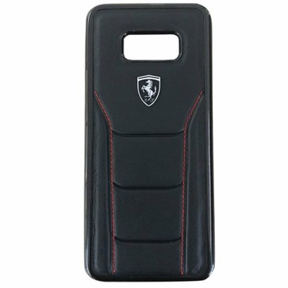 apa para Celular Ferrari para Galaxy S8 Plus - Preta FEOFOHCS8LBK. A Capa para Galaxy S8 Plus da Scuderia Ferrari foi de...