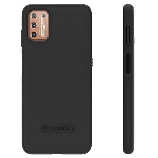 Capa Protetora Original Motorola Moto G9 Plus - Preto