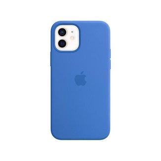 Capa Silicone com MagSafe Azul Capri