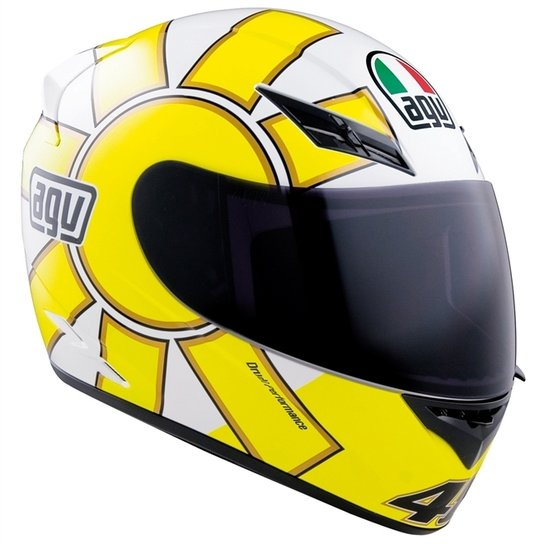 Capacete Agv K3 Gothic Valentino Rossi Netshoes