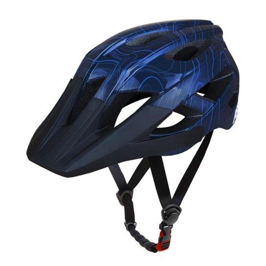 Capacete ASW Bike Accel Frontier - Azul   Netshoes