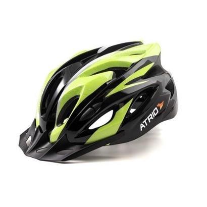 Capacete Atrio para Ciclismo MTB Inmold 2.0 Viseira Removível 19 Entradas de Ventilação Neon - Unissex