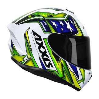 Capacete Axxis Patriot Gloss Branco 60 (G)