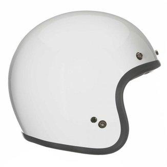 Capacete Bell Custom 500 Solid Branco - 60