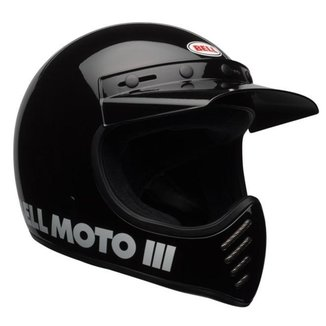 Capacete Bell MOTO-3 Classic Preto - 60
