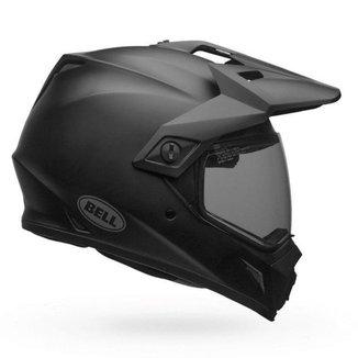 Capacete Bell MX-9 Adventure MIPS Matte Black Preto Fosco