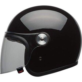 Capacete Bell Riot Mono Preto Brilho - 58