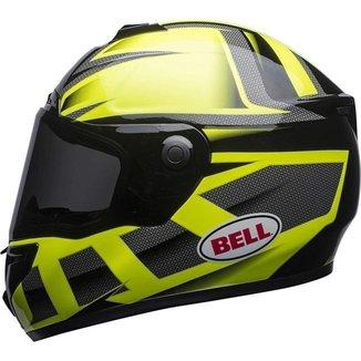 Capacete Bell SRT Predator Hi Viz Verde/Preto - Verde/Preto - 56