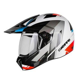 Capacete Bieffe 3 Sport React Motocross Moto Esportivo