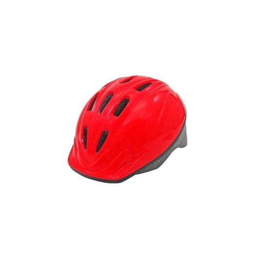 Capacete Bike Ciclismo Infantil Skate Pz - 11 Patins - Vermelho
