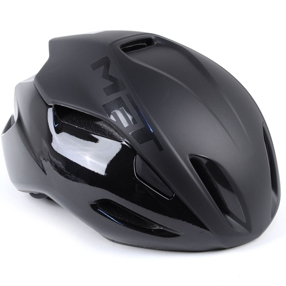 MET Manta Bike Helmet Black