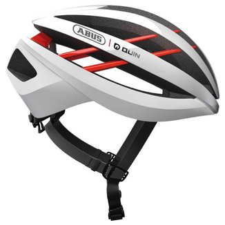 Capacete Ciclismo Abus Aventor Branco Quin Security System