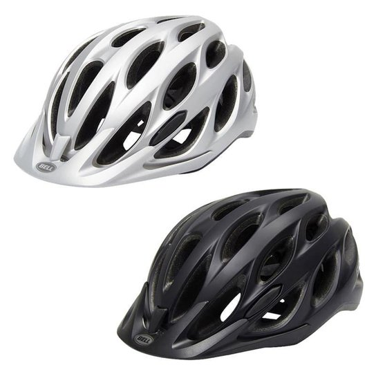 Capacete Ciclismo Bell Tracker Bicicleta Mtb Speed - Cinza