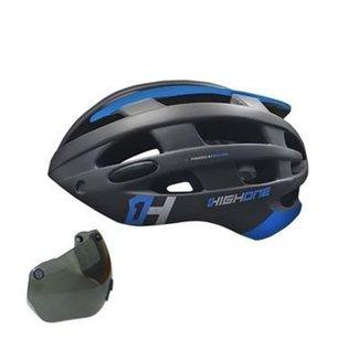 Capacete Ciclismo BIke High One MTB Casco com Óculos