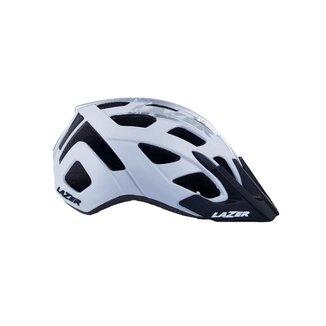 Capacete Ciclismo mtb Lazer roller Branco/Prata