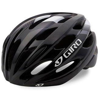Capacete Ciclista Giro Trinity Preto Branco Tam 54-61