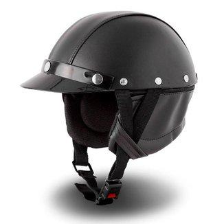 Capacete Custom Chopper Pro Tork Coquinho
