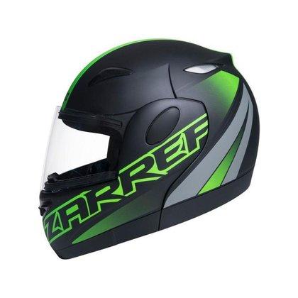 Capacete de Moto Articulado Taurus Zarref