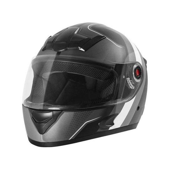 Capacete de Moto Fechado Mixs Helmets - Cinza