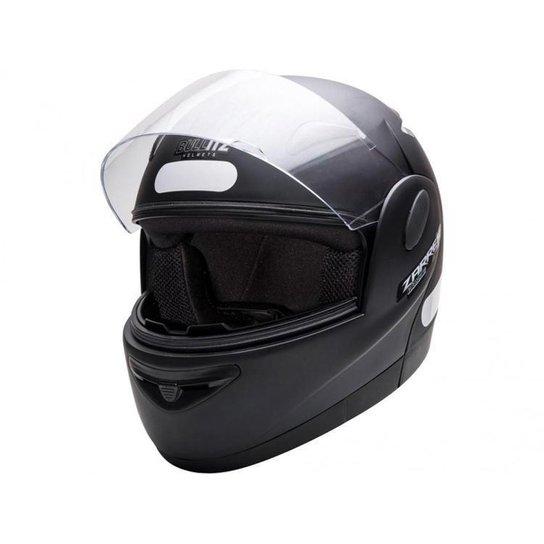 Capacete de Moto Fechado Taurus Zarref - Preto Fosco