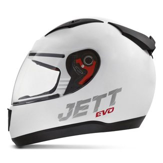 Capacete Fechado Jett Modelo Evo Line Solid Fosco