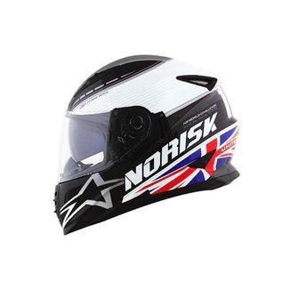 Capacete FF302 Grand Prix United Kingdom Norisk Masculino