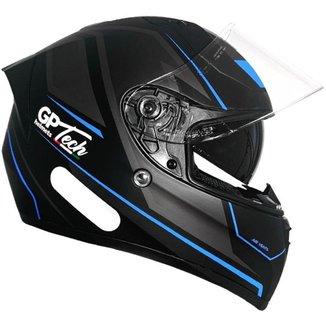 Capacete GP Tech V128 Faster C/ Viseira