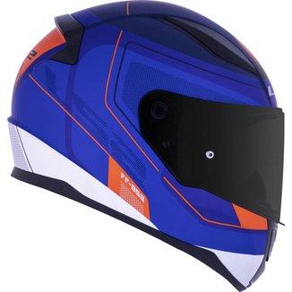 Capacete LS2 FF353 Rapid Slide Matte Azul/Vermelho 58 (M)
