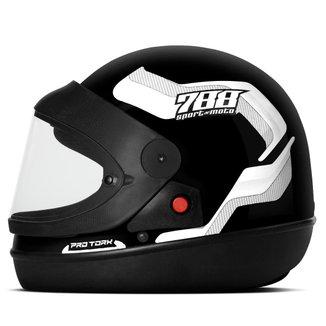 Capacete Moto Automático Pro Tork Sport Moto 788