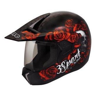 Capacete Moto Bieffe 3 Sport Fortress Feminino Masculino