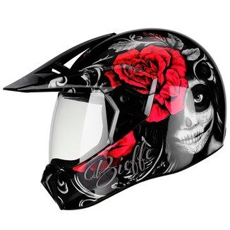 Capacete Moto Bieffe 3Sport Senorita Masculino Feminino
