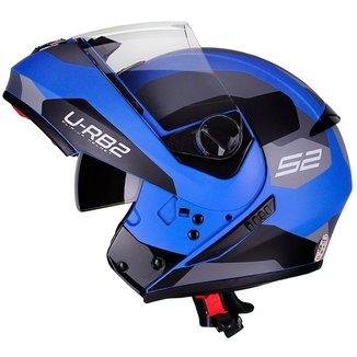 Capacete Moto Escamoteável Peels Urban Sync 2 Com Viseira Solar