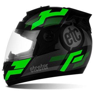 Capacete Moto Fechado Integral Etceter Evo
