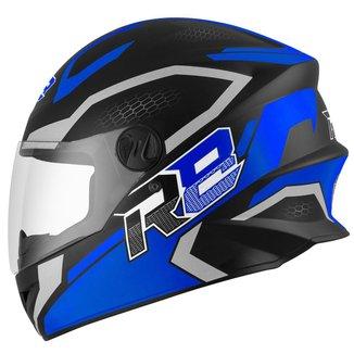 Capacete Moto Fechado R8 Air Pro Tork Fosco