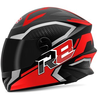 Capacete Moto Pro Tork Fechado R8 Air Fosco Viseira Fumê