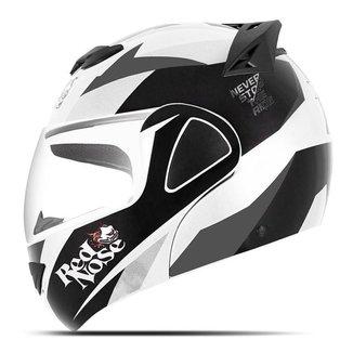 Capacete Moto Robocop Pro Tork V-Pro Jet Red Nose