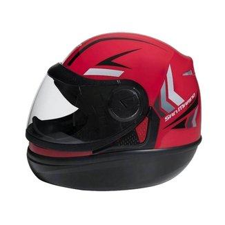 Capacete Moto San Marino Speed One Fechado Integral Taurus