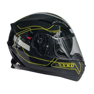 Capacete Moto Texx G2 Panther  - Verde - 55-56