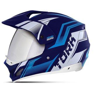 Capacete Motocross Pro Tork Th-1 New Adventure Vision Viseira Espelhada