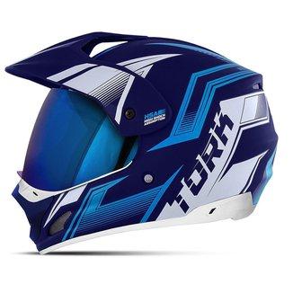 Capacete Motocross Pro Tork Th-1 New Adventure Vision Viseira Iridium